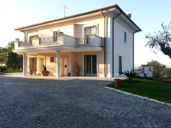 Проект летнего дома италия