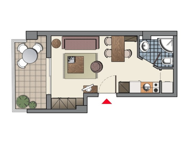 Снять квартиру в греции недорого